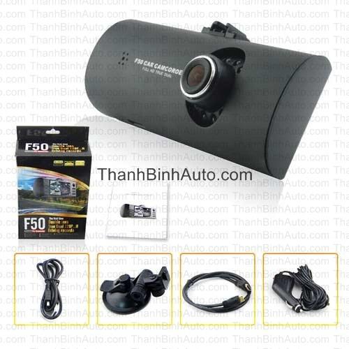 Camera hành trình Dual Cam F50 _Thanhbinhauto Long Biên