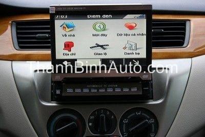 DVD liền màn hình tích hợp GPS Vietmap
