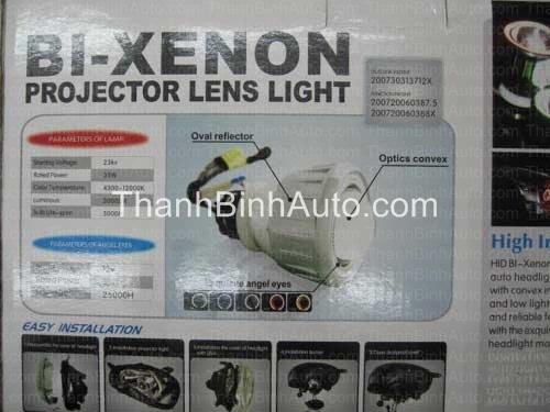 Bộ đèn độ Bi-xenon cho các loại xe Bộ đèn độ Bi-xenon cho các loại xe Dùng để độ