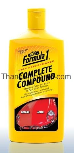 Hợp chất đa năng Formula1, đánh bóng sơn xe