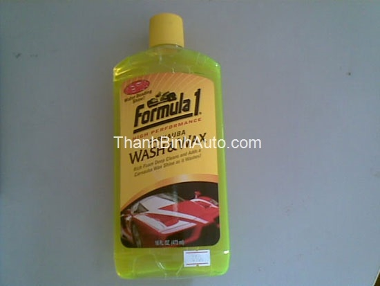 Rửa và bóng xe Carnauba Formula1