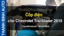 Video Cốp điện cho Chevrolet Trailblazer 2018