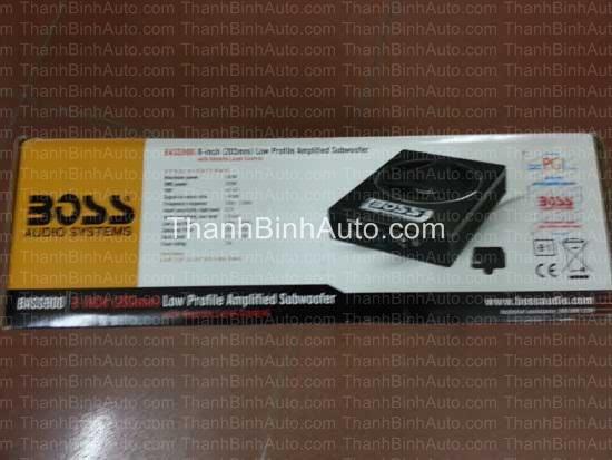 Loa Sub gầm ghế BOSS BASS900 - Thanhbinhauto Long Biên