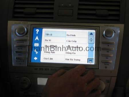 DVD liền màn hình tích hợp GPS Vietmap_Thanhbinhauto Long Biên