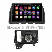 DVD 10.2 INCH ANDROID CHO MAZDA 6 2014 2016